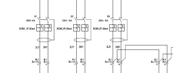 空气开关符号_电箱电气图中开关带漏电保护怎么画_百度作业帮
