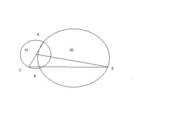 如图 圆o2与半圆o1_如图 圆心o1 - www.aihei1w.com