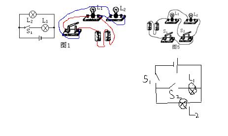 并联电路实物连接_【【根据电路图连接实物图】或【根据实物作电路图】怎么做啊 ...
