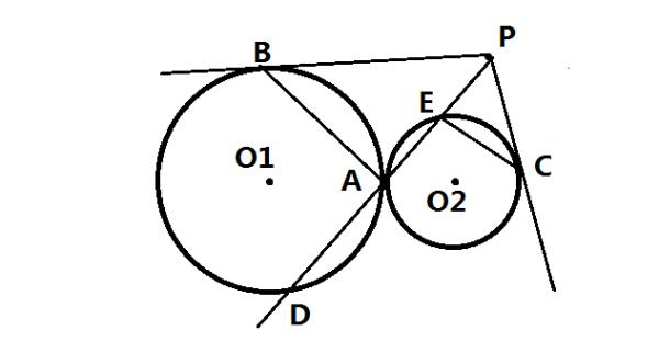 如图 圆o2与半圆o1_【圆几何题一道如图,已知圆O1(半径长R)与圆O2(半径长r)相切 ...