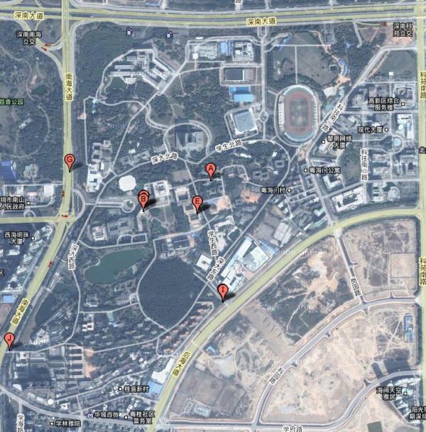 深圳大学高空俯视图_谁能发一张深圳大学的俯瞰照_百度知道