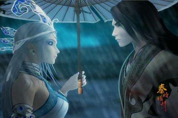 男女吵架下雨的图片_求一张动漫图片,描述下雨天里一对男女各自撑伞面对相遇相见 ...