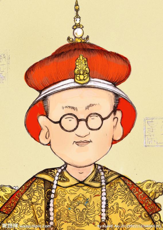 帅的皇上卡通_求一萌头像。求皇帝的那个种动漫人物。穿龙袍_百度知道