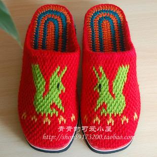 勾针勾鞋_【请教钩织毛线拖鞋,有种鞋垫是一圈一圈的怎么钩织的?如图中的 ...