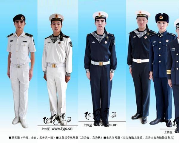 海军服装_海军新兵军训过后的军服是什么样的?都发什么衣服?听说就 ...