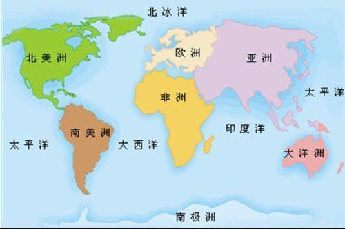 世界七大洲的气候分布图_【世界简图:七大洲,四大洋求图谢谢了要按照大小,位置排列,要 ...