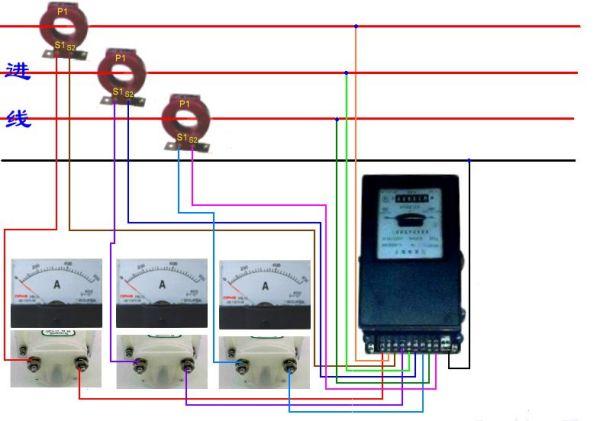 三相四线互感电表_dts634电表互感器-电表互感器选择 三相电表互感器接法 电表 ...