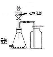 过氧化氢制氧气_画出用过氧化氢溶也和二氧化锰制氧气的气体发生装置图、及用 ...