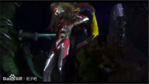 苍月战士被怪兽_有一个女的奥特曼来着,对付一个怪兽,肚子被刺穿了,想知道 ...