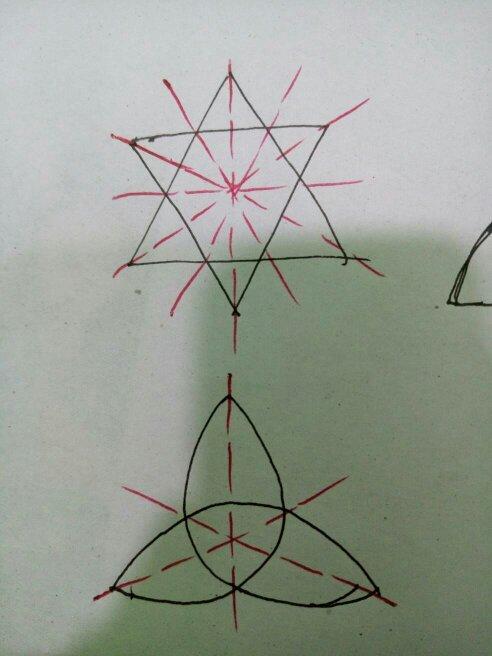 只有方和圆的动物简笔画(剪纸)_对称轴图形图案内容 对称轴图形图案版面设计