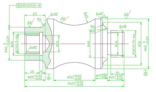 轴类零件数控车削工艺设计及编程_轴类零件数控工艺设计 及加工编程_百度知道