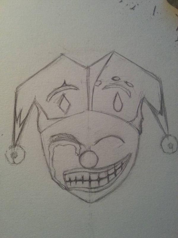 给你画上一张笑脸作文_求一张图片,一半笑脸,一半哭脸,要男的~_百度知道