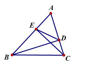 如圖所示,銳角三角形中,bd垂直ac于點d,ce垂直ab于e圖片