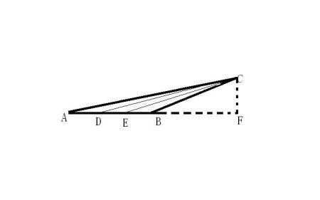 老婆逼里愹��{>��_一个钝角三角形的三分之一,画出来,并说明理由.