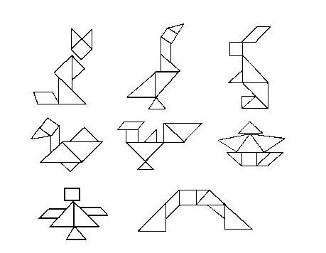 簡筆畫幾何圖形分享展示圖片