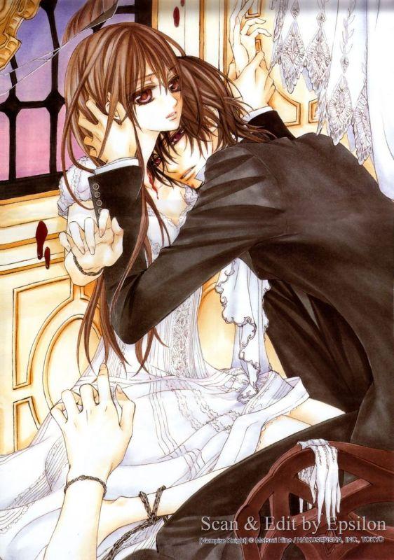 玖兰枢和优姬_谁有吸血鬼骑士中玖兰枢和黑土优姬的截图照片、发来一下_百度