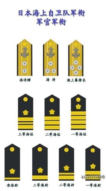 日本军衔_日本陆军肩章军衔图解
